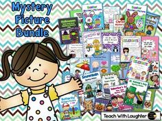 Place Value Mystery Picture bundle!
