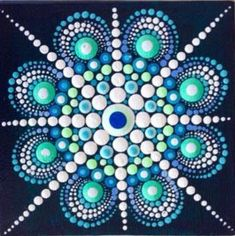 Dot by dot art mandala Aboriginal Dot Painting, Dot Art Painting, Mandala Painting, Stone Painting, Mandala Painted Rocks, Painted Rocks Craft, Mandala Rocks, Rock Painting Patterns, Rock Painting Designs