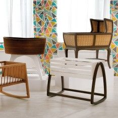 Our Norse baby bassinet features a sleek modern wood grain with a Scandinavian-inspired design. Shop for bassinets for your nursery today. Wood Bassinet, Baby Bassinet, Kids Storage Bins, Baby Furniture, Wood Furniture, Baby Decor, Kids Decor, Furniture Manufacturers, Room Inspiration