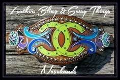 Find me on fb for painted hats, leather bronc Nosebands,  horse tack, cowboy hats,  and me. .
