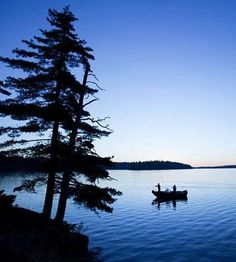 Beautiful, peaceful Lake Vermilion, Minnesota. Read more about lake getaways without the crowds: http://www.midwestliving...
