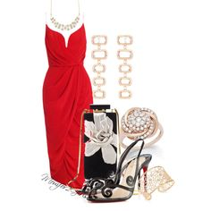 A fashion look from August 2014 featuring Christian Louboutin sandals, Lanvin handbags y Dana Rebecca Designs earrings. Browse and shop related looks.