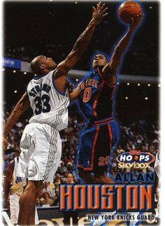 RARE 99/00 SKYBOX NBA HOOPS ALLAN HOUSTON NEW YORK KNICKS MINT