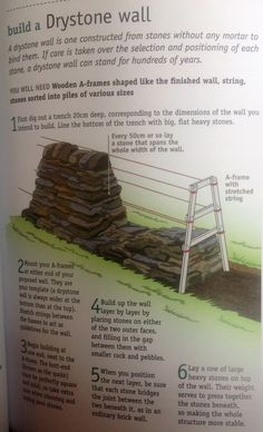 Build a dry stone wall
