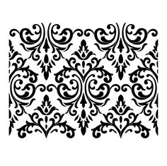"Venetian Damask Large Format Stencil by Artisan Enhancements 24"" x 19"""