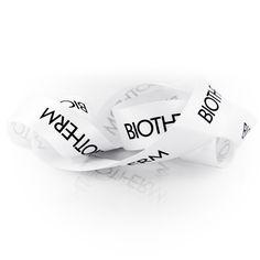 #BIOTHERM #Geschenkband #createam #image #schleifenband #satinband #banddruck #logoband #bandweberei #ribbons #imageribbons #satinribbons #namensbaender #geschenkband #packaging