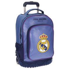 MALETA JUVENIL COMPACT CAMPUS AZUL: Amazon.es: Equipaje Real Madrid, Under Armour, Backpacks, Bags, Fashion, Wheeled Backpacks, School Backpacks, Baggage, School Supplies