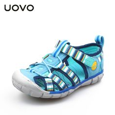 26.90$  Buy here - http://alihe8.shopchina.info/go.php?t=32800279540 - UOVO Hot Sale New Fashion Summer Leisure Beach Children Shoes High Quality Leather Sandals Boys Sandals Colorful Footwear Kids 26.90$ #aliexpresschina