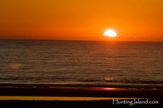 Hunting Island State Park Sunrise Sunset Times Table Sun Time Chart