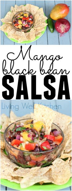 Mango Black Bean Sal