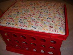 My Cute Crate Storage Seats