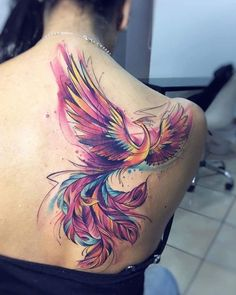 Awesome 45 Amazing Phoenix Tattoo Ideas For Men And Women. More at https://outfitsbuzz.com/2018/03/19/45-amazing-phoenix-tattoo-ideas-for-men-and-women/