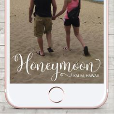 Snapchat Geofilter, Snapchat Geofilter Honeymoon,  Custom Snapchat Filter, Honeymoon Snapchat filter, Personalized Filter, Vacation, Beach by LMNDesignStudio on Etsy https://www.etsy.com/ca/listing/508232677/snapchat-geofilter-snapchat-geofilter