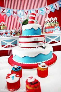 Dr. Seuss Cake.