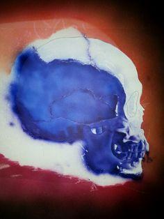 Skull with flames ( Dru Blair ) #5 (23.10.13 )