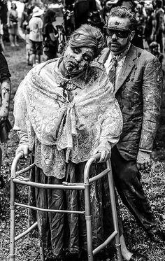 Zombie Walk - B - Walker  #zombie