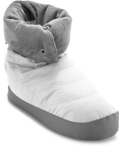 Warm toes are happy toes. REI Down Booties - Women's.