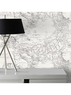 d coration scandinave merci le papier peint g om trique papier tarek graham brown mes. Black Bedroom Furniture Sets. Home Design Ideas