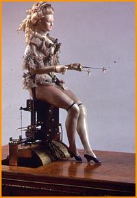 detail, showing lovely legs, marie antionette's automaton c 1772 #18th century #original