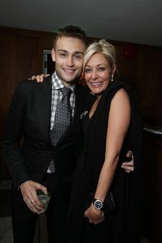 Douglas Booth and Nadja Swarovski at the  RomeoandJuliet after party  Douglas Booth, Romeo And 31f7f8508e4e