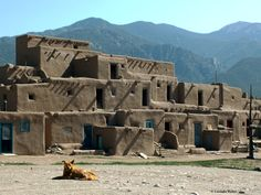 Taos Pueblo by Lucinda Walter on 500px