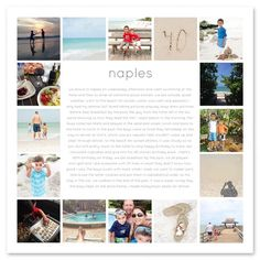 Image result for cool family photo collage page layout