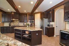 My amazing kitchen in Katy, Texas. The island is wonderful!