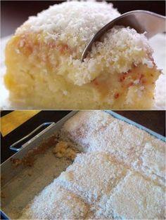 - Aprenda a preparar essa maravilhosa receita de Aprenda: bolo de coco molhadinho é sucesso