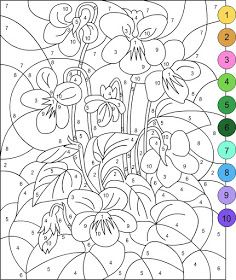 Pour Imprimer Ce Coloriage Gratuit Coloriage Magique 1 Cliquez