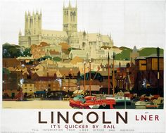 Lincoln - Love this! Before neon lights and 'luxury' apartments dominated the Brayford skyline....
