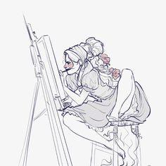 Quick messy Punzie sketch #punzie #rapunzel #tangled #disney #disneytangled #disneyfanart #disneyprincess #raiponce #fanart #pose #draws #drawing #digitalsketch #digitaldrawing
