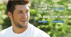 Awww....Love me some Tim Tebow!