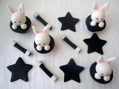 cute fondant toppers