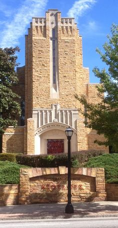 Art Deco Churches | The art deco style of this church worked beautifully.