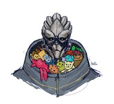 Garrus - Mass Effect - by helila