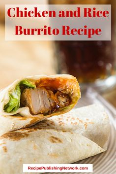 If you enjoy chicken, it can be added to burritos as well. Try this easy chicken and rice burrito for a great family dinner or a quick snack.