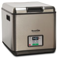 Sous Vide Supreme water oven, sous vide cooking appliance: SousVide Supreme   Official Site. Have it. Use it. Love it.