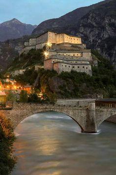 Forte di Bard - Bard (AO) Val d,Aosta - Italy