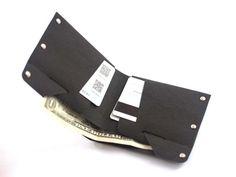 Minimalist mens Handmade Washable Kraft Paper  Bilfold Wallet Credit Card Wallet #Handmade