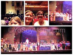 Miércoles Mudo 12: Viendo la Opera La Boheme con mi mamá en el Teatro de la Universidad de Puerto Rico.