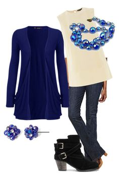 """""""Casual Friday at the Office"""" by markdebbielingle on Polyvore featuring Levi's, WearAll, Warehouse and Vieste Rosa"""