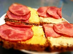 polskie kanapki, Polish sandwiches:)