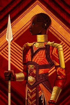 Okoye from Black Panther Black Panther Art, Black Panther Marvel, Black Art, Marvel Characters, Marvel Movies, Fantasy Characters, World Of Wakanda, Panther Pictures, Dora Milaje