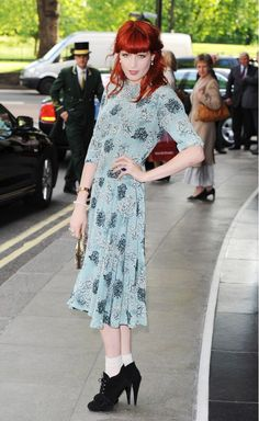 Florence Welch's boho chic look from 2006 was on-point.