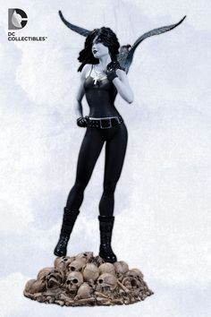 "Vertigo Cover Girls Death Statue from DC Collectibles.  You get what anybody gets. You get a lifetime.""  Available February 2013.  <3"
