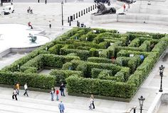 Trafalgar Square Maze in UK