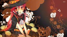 Resultado de imagem para anime halloween