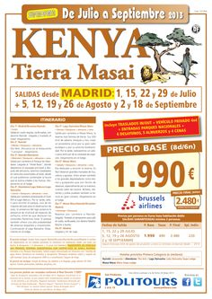 KENIA Tierra Masai, sal. 1/07 al 18/09 desde Madrid (8d/6n) p.f. 2.480€ salidas garantizadas - http://zocotours.com/kenia-tierra-masai-sal-107-al-1809-desde-madrid-8d6n-p-f-2-480e-salidas-garantizadas/
