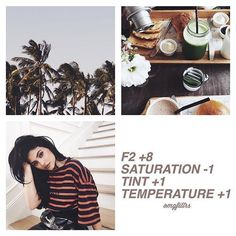 This is a great free filter that looks great for a feed. It looks good on literally everything and it's easy to match. This filter will also look great for a fall feed. Vsco Feed, Photography Filters, Photography Editing, Vsco Gratis, Fotografia Vsco, Vsco Hacks, Fotografia Tutorial, Free Filters, Vsco Themes