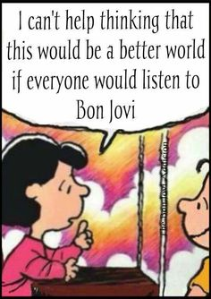 We can't help but think this, too... #BonJovi #lol #funny